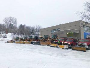 Déneigement de bureaux à Sherbrooke